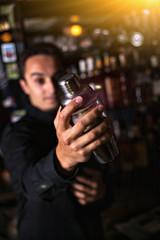 Barman In Pub