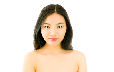 Smiling young Asian beautiful woman