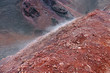 Au sommet de l'Etna, volcan actif en Sicile