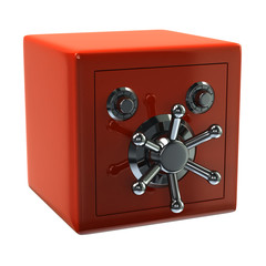 Orange security safe