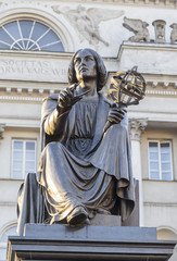 Monument to the great scientist Nicholas Copernicus