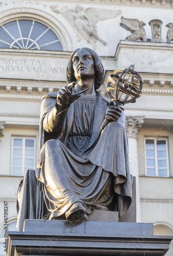 Monument to the great scientist Nicholas Copernicus
