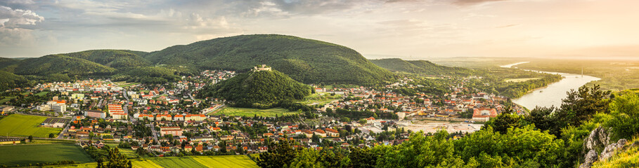 Hainburg as Seen from Braunsberg Hill