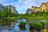 Yosemite Nationa Park at sunset
