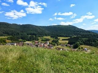 Dorf im Schwarzwald