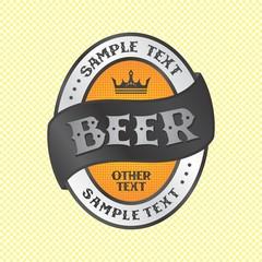 beer label theme