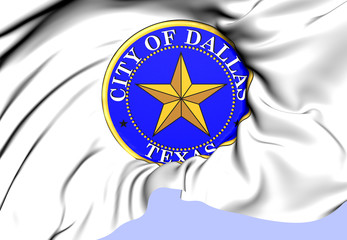 Seal of Dallas, USA.