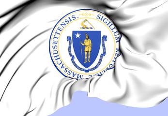 State Seal of Massachusetts, USA.