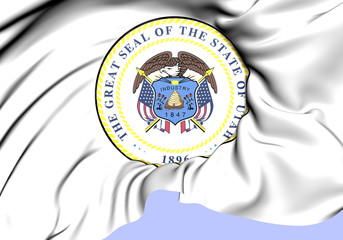 State Seal of Utah, USA.