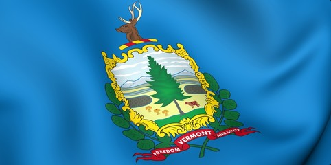 Flag of Vermont, USA.