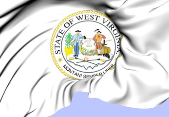 West Virginia State Seal, USA.