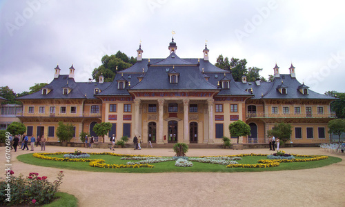 canvas print picture Schloss Pillnitz