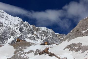 Jade dragon snow mountain(4,500M), China