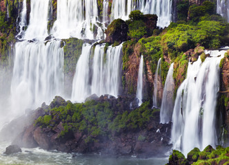 Iguassu Falls, view from Argentinian side