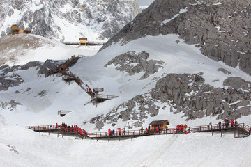 Jade dragon snow mountain(4,500M), China