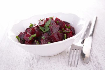 beet and parsley