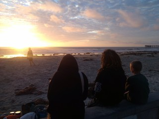 California Sunset Friends