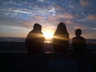 Southern California Sunset Friends