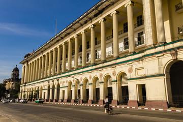 Colonial Building , ,  Yangon in Myanmar (Burmar)
