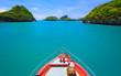 Leinwanddruck Bild Boat to Angthong island, Koh Samui, Thailand