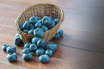 Fruit berries, blueberries