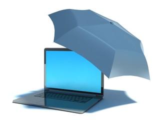 anti virus security and laptop