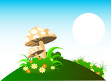 Mushrooms With Ecosystems poster
