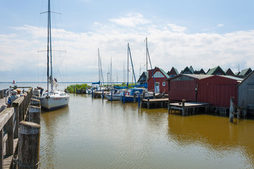 Ahrenshoop harbor