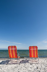 Beach Chairs on the Lake