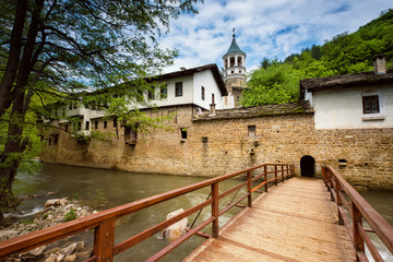 "A view of ""Dryanovski Monastery"" near Dryanovo, Bulgaria"