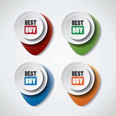 Best buy special offer bubbles in vibrant color variations
