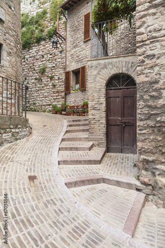 Obraz narrow alley