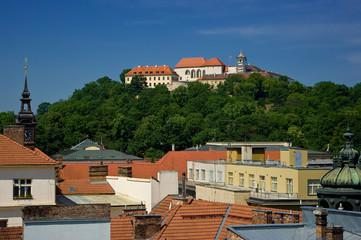 Castle Spilberk in Brno.