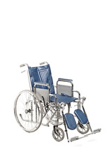 Studio shot of a medical wheelchair