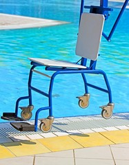Rugged wheelchairs for disabled people