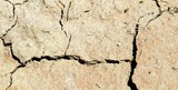 deep furrows on the arid soil of a field  2 poster