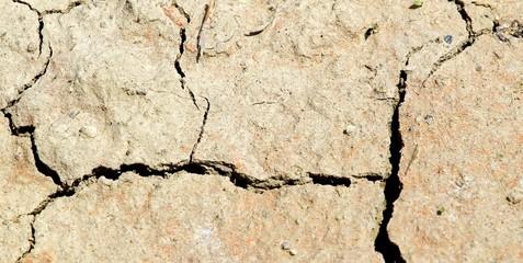 deep furrows on the arid soil of a field  2