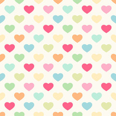 Hearts seamless pattern 2