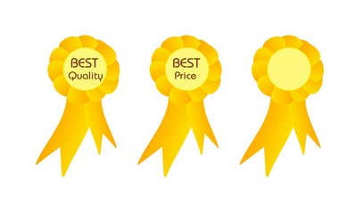 Best quality and price golden ribbons