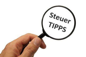 Lupe Steuer-Tipps
