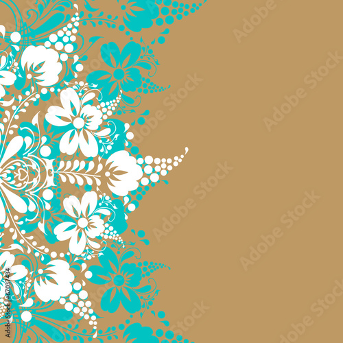 canvas print picture floral design