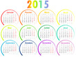 Calendrier 2015 Cercles
