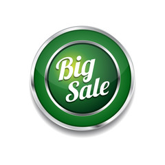 Big Sale Glossy Shiny Circular Vector Button