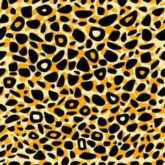 Animal print seamless vector pattern