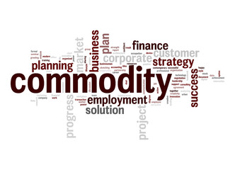 Commodity word cloud