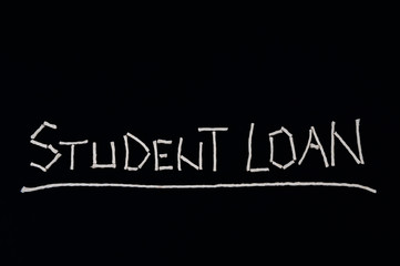 Student loan, unusual concept