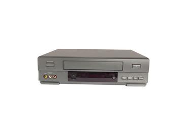 videorecorder isolated on white background