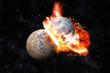 Planets collision