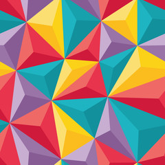 Abstract Seamless Background - Geometric vector pattern