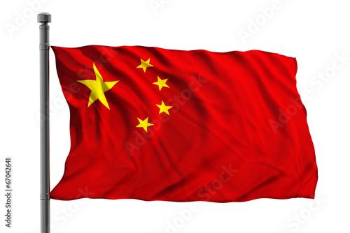 Papiers peints Chine Flag of China